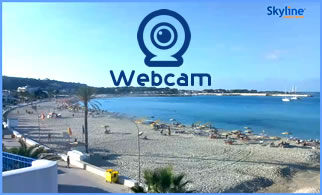webcam on the beach San Vito Lo Capo
